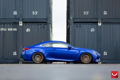 Lexus RC F on Vossen VFS-2 - © Vossen Wheels_18364599706_o