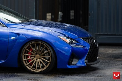 Lexus RC F on Vossen VFS-2 - © Vossen Wheels_18390978095_o