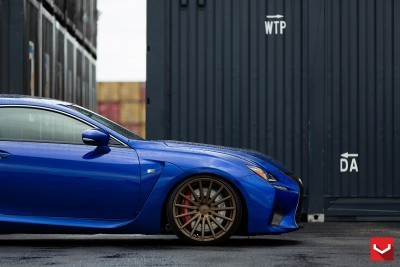 Lexus RC F on Vossen VFS-2 - © Vossen Wheels_18392604001_o