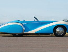 1948 Talbot-Lago T26 Grand Sport Cabriolet – Saoutchik Opus Seeking $2M-Plus At Monterey Auctions