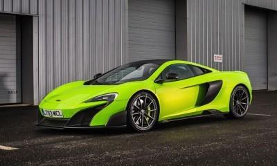 McLaren 675LT Mantis Green 2