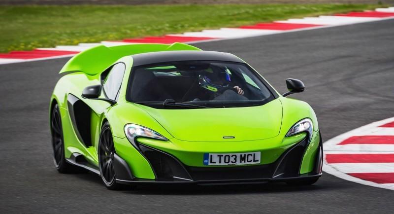 McLaren 675LT Mantis Green 5