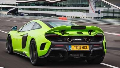 McLaren 675LT Mantis Green 9