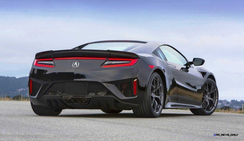 New Acura NSX in Berlina Black