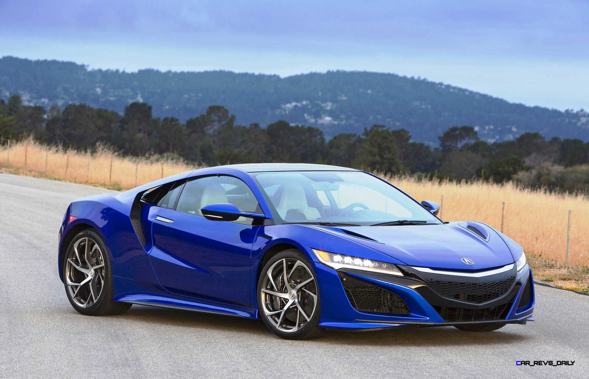 New Acura NSX in Nouvelle Blue