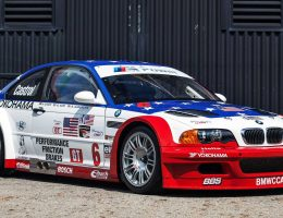 2001 BMW M3 GTR Race and Road Cars Attending Autobahn Concours in Monterey