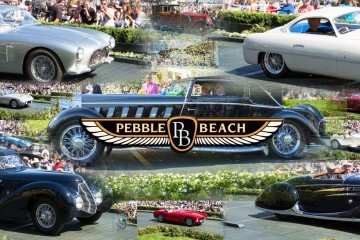 Pebble Beach 2015 - Concours Best in Show Winners & Highlights in 77 Photos