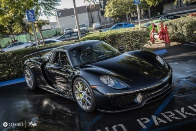 Porsche 918 Spyder with HRE P101 - Credit to photographer_15698348804_o