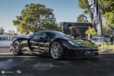 Porsche 918 Spyder with HRE P101 - Credit to photographer_15698349424_o