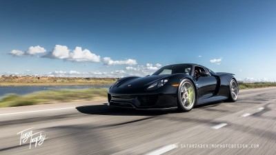 Porsche 918 Spyder with HRE P101 - Credit to photographer_16134573179_o