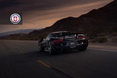 Porsche 918 Spyder with HRE P101 in Brushed Dark Clear_15586757714_o