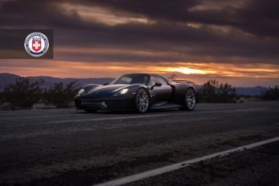 Porsche 918 Spyder with HRE P101 in Brushed Dark Clear_16021656798_o