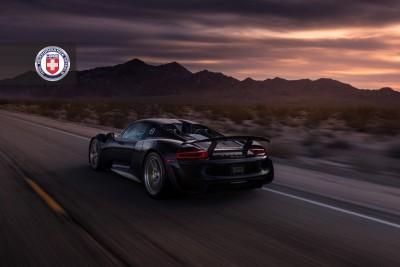 Porsche 918 Spyder with HRE P101 in Brushed Dark Clear_16021809870_o