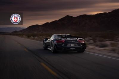 Porsche 918 Spyder with HRE P101 in Brushed Dark Clear_16023066729_o