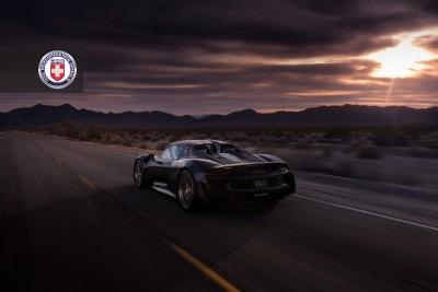 Porsche 918 Spyder with HRE P101 in Brushed Dark Clear_16023067969_o