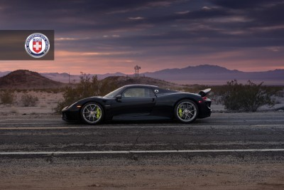 Porsche 918 Spyder with HRE P101 in Brushed Dark Clear_16023355287_o