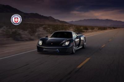 Porsche 918 Spyder with HRE P101 in Brushed Dark Clear_16183299466_o