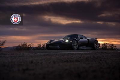 Porsche 918 Spyder with HRE P101 in Brushed Dark Clear_16183302906_o