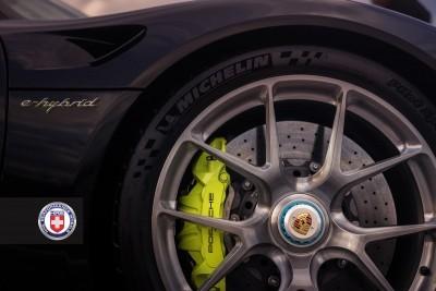 Porsche 918 Spyder with HRE P101 in Brushed Dark Clear_16207293901_o