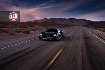 Porsche 918 Spyder with HRE P101 in Brushed Dark Clear_16208357062_o