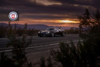 Porsche 918 Spyder with HRE P101 in Brushed Dark Clear_16208358532_o