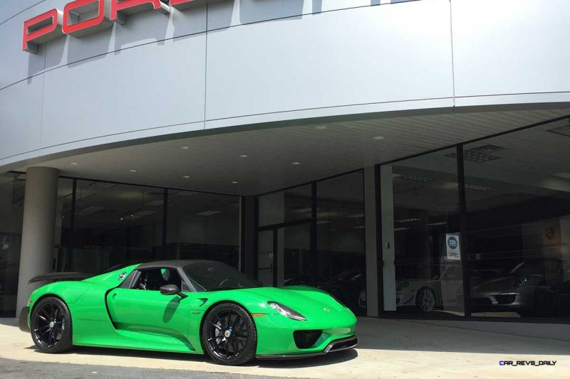 Porsche 918 Spyder with HRE P104 in Gloss Black (3)_19771694909_o