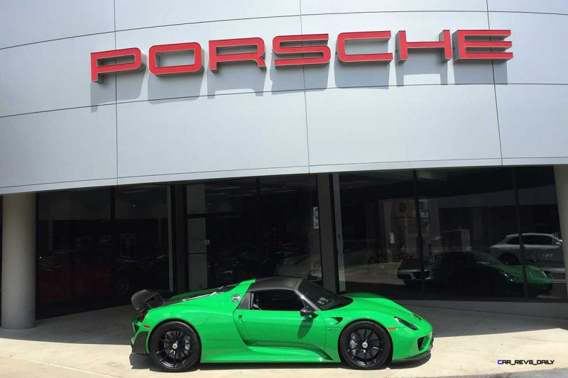 Porsche 918 Spyder with HRE P104 in Gloss Black (4)_19770404970_o