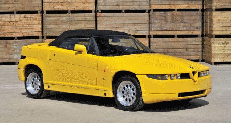 RM London 2015 - 1993 Alfa Romeo RZ by Zagato is Foxy