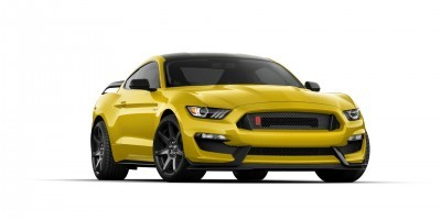 SHELBY GT350R Colors 42