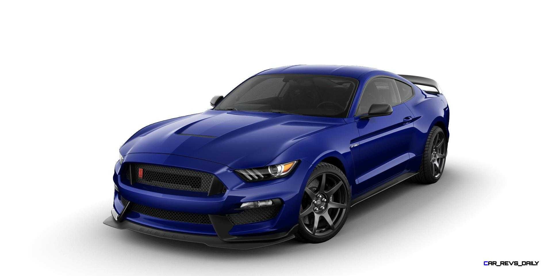 2018 Mustang Colors >> 2016 SHELBY Ford Mustang GT350R Colors