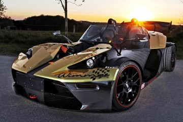 WIMMER RST Creates One-Off 2015 KTM X-Bow Dubai Gold Edition