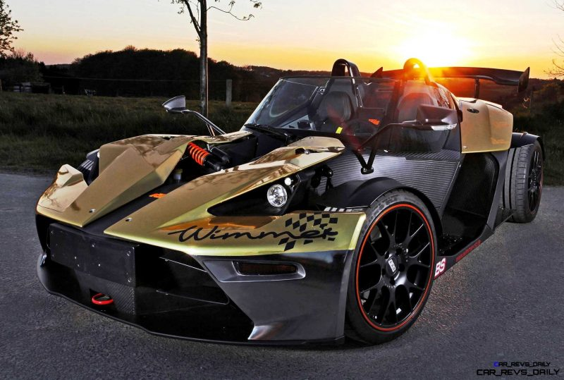 WIMMER RST 2015 KTM X-Bow Dubai Gold Edition 3