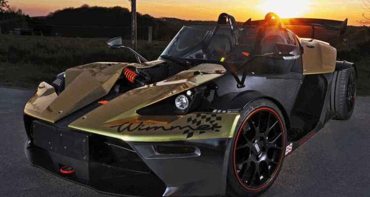 WIMMER RST 2015 KTM X-Bow Dubai Gold Edition