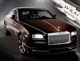 2015 Rolls-Royce WRAITH Inspired by Music Is Toe Up, Dead on Arrival