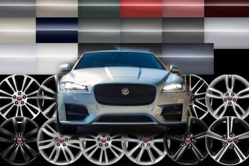 2016 Jaguar XF R-Sport and 380HP XF-S: Prices, Options, Colors and Wheels