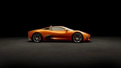 007 SPECTRE Bond Cars - JAGUAR CX-75 Orange 1