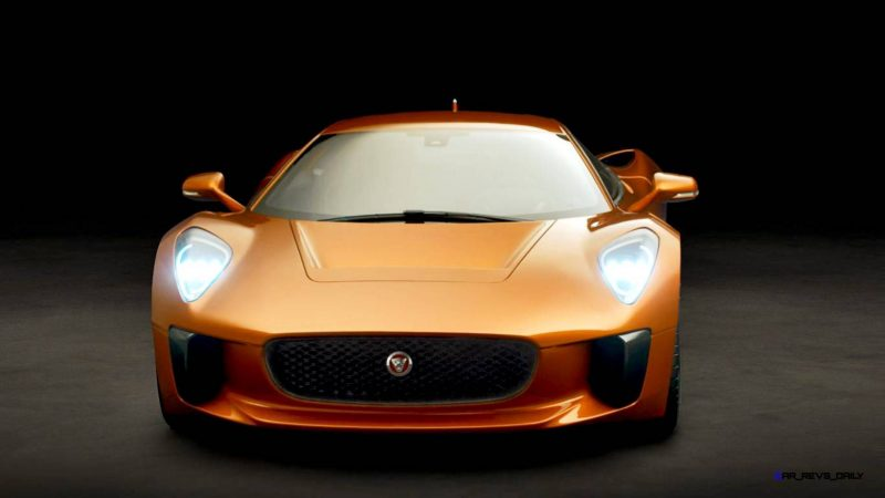 007 SPECTRE Bond Cars - JAGUAR CX-75 Orange 11