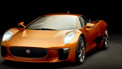 007 SPECTRE Bond Cars - JAGUAR CX-75 Orange 13