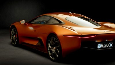007 SPECTRE Bond Cars - JAGUAR CX-75 Orange 15