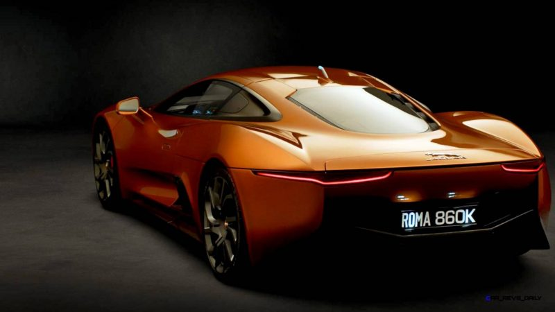 007 SPECTRE Bond Cars - JAGUAR CX-75 Orange 16
