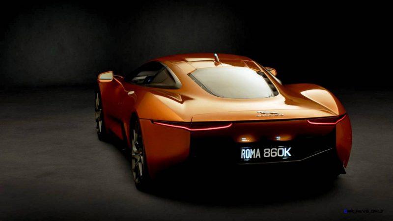 007 SPECTRE Bond Cars - JAGUAR CX-75 Orange 17