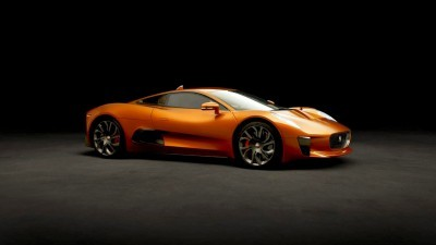 007 SPECTRE Bond Cars - JAGUAR CX-75 Orange 3