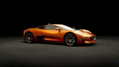 007 SPECTRE Bond Cars - JAGUAR CX-75 Orange 3