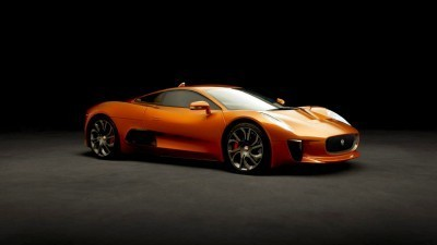 007 SPECTRE Bond Cars - JAGUAR CX-75 Orange 4