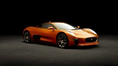 007 SPECTRE Bond Cars - JAGUAR CX-75 Orange 5