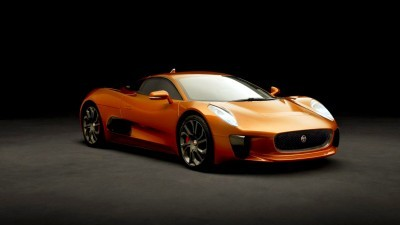 007 SPECTRE Bond Cars - JAGUAR CX-75 Orange 6