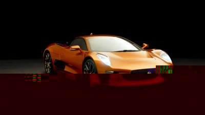 007 SPECTRE Bond Cars - JAGUAR CX-75 Orange 7