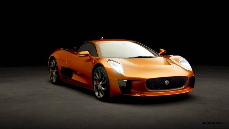 007 SPECTRE Bond Cars - JAGUAR CX-75 Orange 7