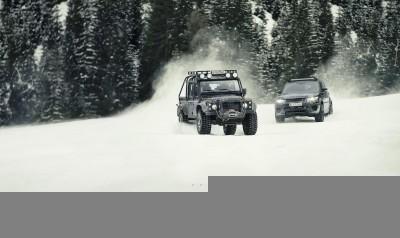 007 SPECTRE Bond Cars - Jaguar CX-75 Land Rover RRS SVR 1