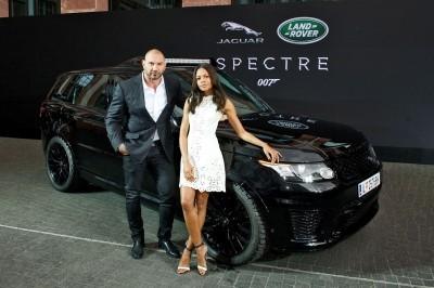 David Bautista and Naomie Harris